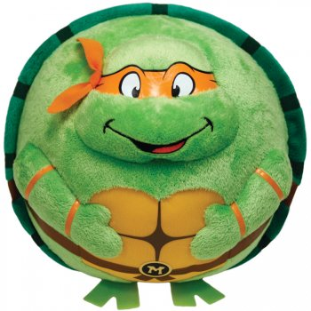 Beanie Ball z Clip - Tortue Ninja - Michelangelo Masque Orange