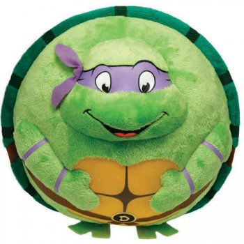 Beanie Ball z Clip - Tortue Ninja - Donatello Masque Violet