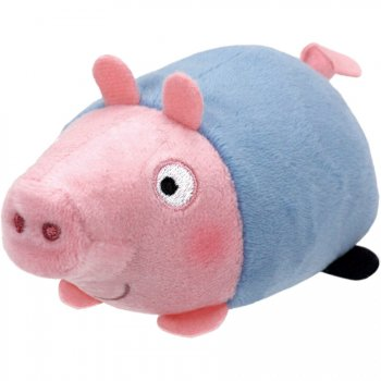 Mini Peluche Teeny Tys - George (Peppa Pig)