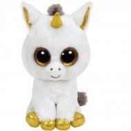Beanie Boos Small - Pegasus La Licorne (or, blanc et gris)