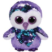 Peluche Flippables Small - Moonlight Le Hibou