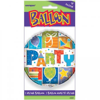 Ballon Mylar Party