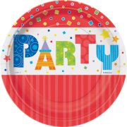 8 petites Assiettes Party