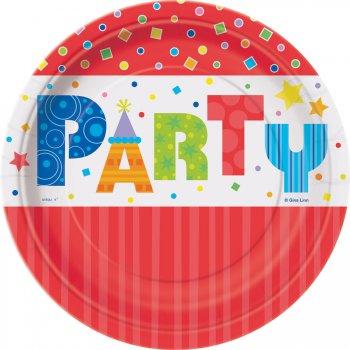 8 petites Assiettes Party