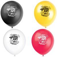 Contient : 1 x 8 Ballons Pirate Fun