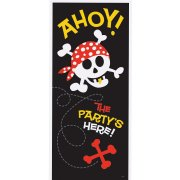 Affiche de porte Pirate Fun