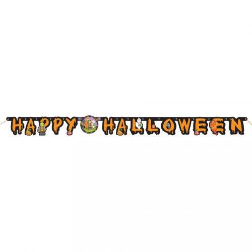 Guirlande lettres Happy Halloween Petits Monstres