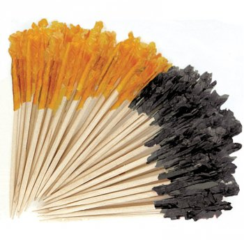 50 Pics Noir/Orange
