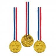 5 médailles d'Or Winner tricolore