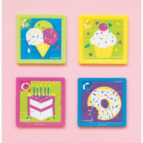 10 Mini Puzzles Gourmands