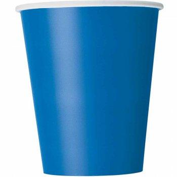 8 Gobelets Bleu Océan