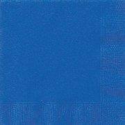 20 Serviettes Bleu Océan