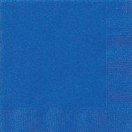 20 Serviettes Bleu Oc�an