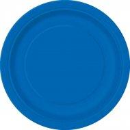 8 Assiettes Bleu Oc�an