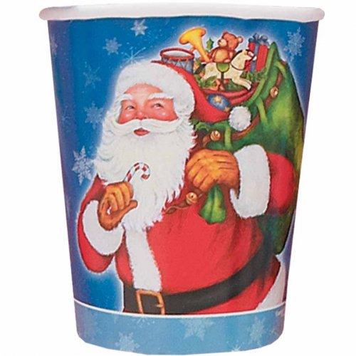 8 Gobelets Père Noël
