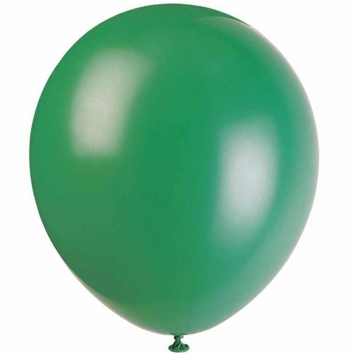 15 Ballons verts