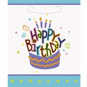 8 Pochettes à Cadeaux Gâteau Happy Birthday