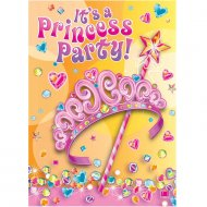 8 Invitations Birthday Princess