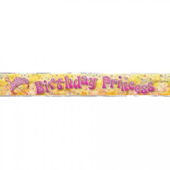 Bannière Birthday Princess