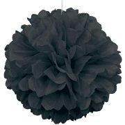 Boule Papier fleur Noir