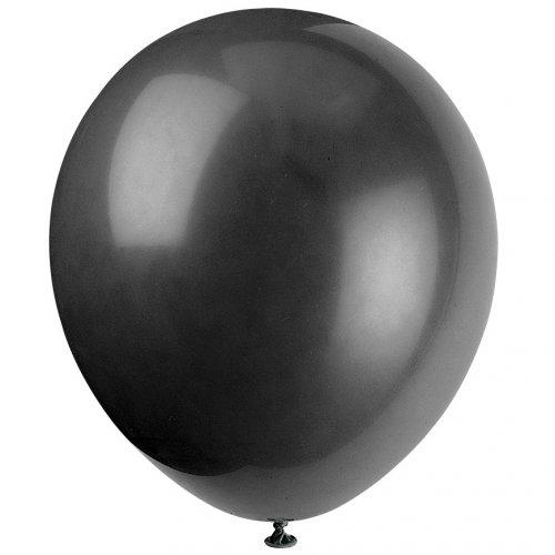 10 Ballons Noirs