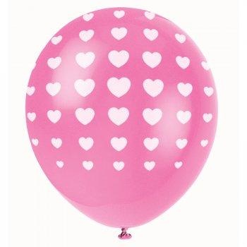 5 Ballons Petits coeurs