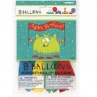 8 Ballons Alien Fun