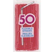 50 Pailles Rouges