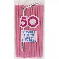 50 Pailles Roses