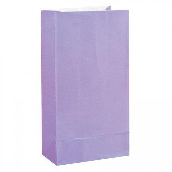 12 Sacs papier Lavande