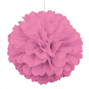 Boule Papier Frou-frou Rose