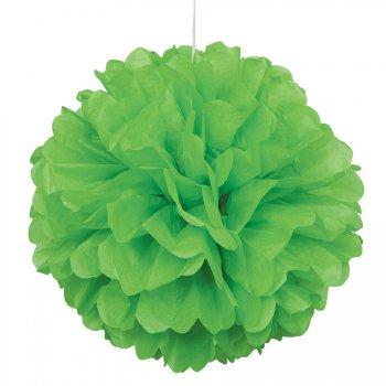 Boule Papier Frou-frou Vert