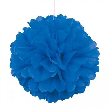 Boule Papier Frou-frou Bleu