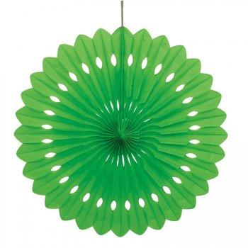 1 Eventail Déco Vert (40 cm)