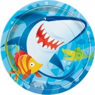 8 Assiettes Requin et ses amis