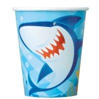 Contient : 1 x 8 Gobelets Requin et ses amis