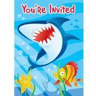 8 Invitations Requin et ses amis