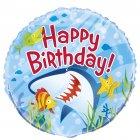 Ballon mylar Requin et ses amis