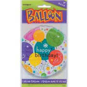 Ballon mylar Happy Birthday Ballons