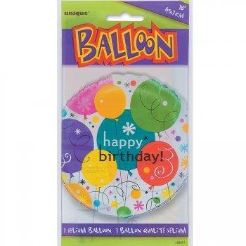 Ballon mylar Happy Birthday Ballons