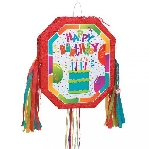 Pull pinata Birthay Ballons dépliable