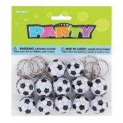 12 Porte-cl�s ballons de foot