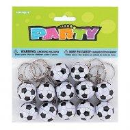 12 Porte-clés ballons de foot