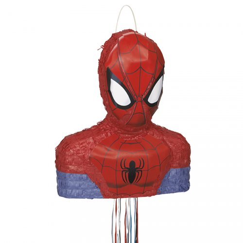 Pull Pinata Buste de Spiderman