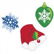 24 Confettis géants Noël
