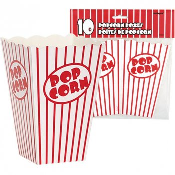 10 Boîtes à Popcorn