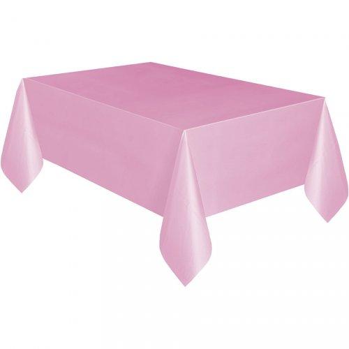 Nappe Unie Rose Pâle - Plastique