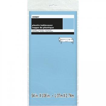 Nappe Unie Bleu Clair - Plastique