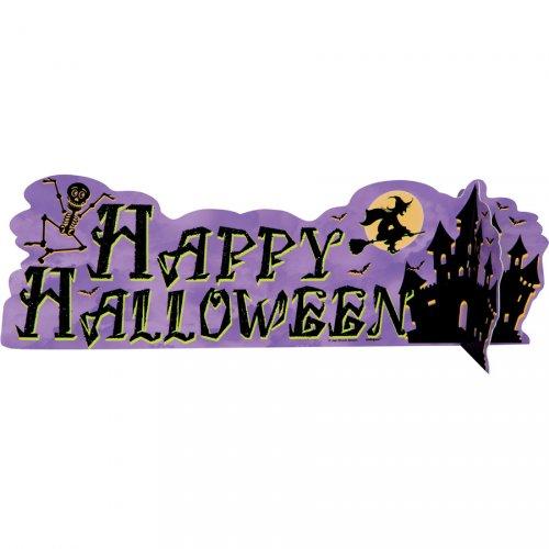 Centre de Table Happy Halloween Château Hanté