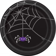 8 Assiettes Toile d'Araignée